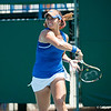 Florida sophomore Alexandra Cercone during  the Gators' 4-0 win against South Carolilna State on Friday May 11, 2012 at the Alfred A Ring Tennis Complex in Gainesville, Fla. / Gator Country photo by Saj Guevara