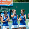Florida Women's Tennis Team  during the Gators' 4-0 win against South Carolilna State on Friday May 11, 2012 at the Alfred A Ring Tennis Complex in Gainesville, Fla. / Gator Country photo by Saj Guevara
