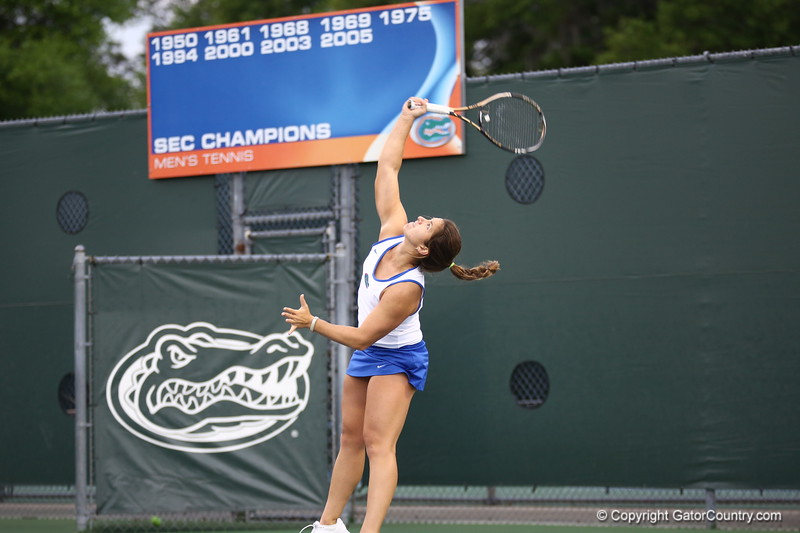 Aexandra Cercone during Florida's 4-1 win over Alabama on March 22, 2013 in Gainesville, Florida