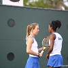 Laren embree and Brianna Morgan during Florida's 4-1 win over Alabama on March 22, 2013 in Gainesville, Florida