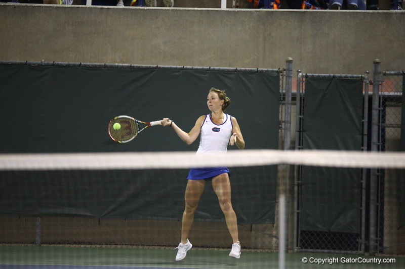 during Florida's 4-1 win over Alabama on March 22, 2013 in Gainesville, Florida