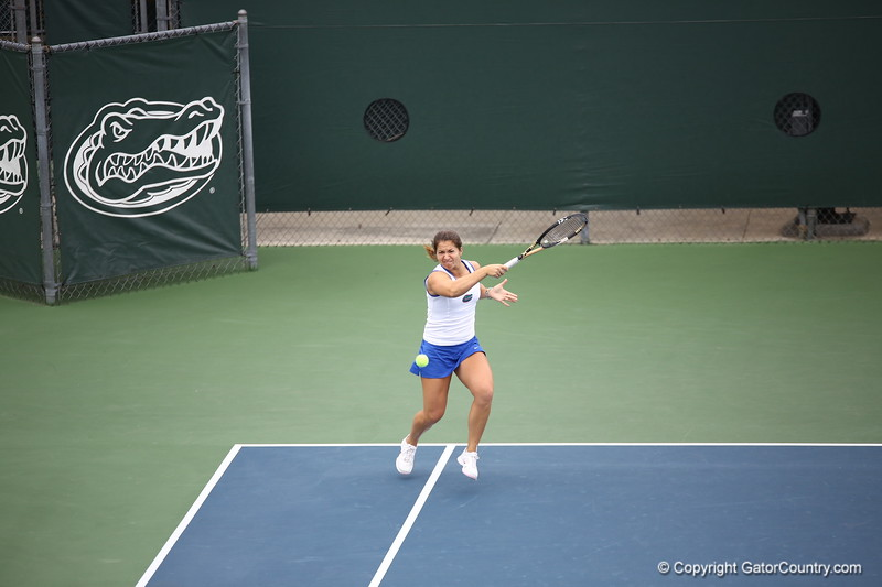 Alexandra Cercone during Florida's 4-1 win over Alabama on March 22, 2013 in Gainesville, Florida