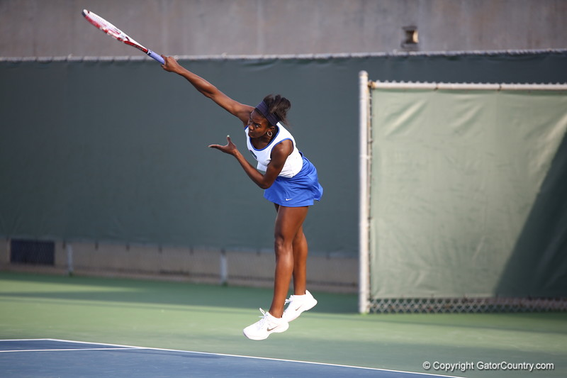 Brianna Morgan during Florida's 4-1 win over Alabama on March 22, 2013 in Gainesville, Florida
