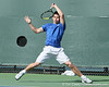 Florida sophomore Billy Federhofer follows through on a swing during the No. 9-ranked Gators' 5-2 win against the No. 7-ranked Baylor Bears on Sunday, January 23, 2011 at Linder Stadium at Ring Tennis Complex in Gainesville, Fla. / Gator Country photo by Tim Casey
