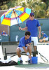 Carlos Gonzalez De Cueto of the University of Florida men's tennis team competes in the NCAA men's championship on Friday, May 8, 2009 in Gainesville, Fla. at the Ring Tennis Complex. / Gator Country photo by Casey Brooke Lawson