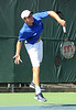Johnny Hamui of the University of Florida men's tennis team competes in the NCAA men's championship on Friday, May 8, 2009 in Gainesville, Fla. at the Ring Tennis Complex. / Gator Country photo by Casey Brooke Lawson