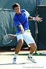 Antoine Benneteau of the University of Florida men's tennis team competes in the NCAA men's championship on Friday, May 8, 2009 in Gainesville, Fla. at the Ring Tennis Complex. / Gator Country photo by Casey Brooke Lawson