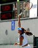 Junior Anastasia Revzina of the University of Florida women's tennis team compete in the NCAA women's tournament on Saturday, May 9, 2009 against the University of Charleston in Gainesville, Fla. at the Ring Tennis Complex. / Gator Country photo by Casey Brooke Lawson