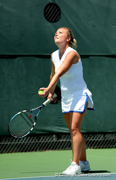 The University of Florida women's tennis team compete in the NCAA women's tournament on Saturday, May 9, 2009 in Gainesville, Fla. at the Ring Tennis Complex. / Gator Country photo by Casey Brooke Lawson