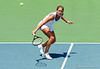Freshman Joanna 'Jo' Mather of the University of Florida women's tennis team compete in the NCAA women's tournament on Saturday, May 9, 2009 against the University of Charleston in Gainesville, Fla. at the Ring Tennis Complex. / Gator Country photo by Casey Brooke Lawson