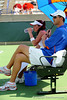 The University of Florida women's tennis team competes in the NCAA women's tournament on Sunday, May 10, 2009 against the Florida State University in Gainesville, Fla. at the Ring Tennis Complex. / Gator Country photo by Casey Brooke Lawson