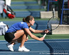 Florida sophomore Joanna Mather competes during the Gators' 7-0 win against the South Florida Bulls on Monday, February 8, 2010 at Linder Stadium at Ring Tennis Complex in Gainesville, Fla. / Gator Country photo by Tim Casey