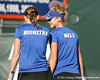 Florida senior Marrit Boonstra and freshman Allie Will compete during the Gators' 7-0 win against the South Florida Bulls on Monday, February 8, 2010 at Linder Stadium at Ring Tennis Complex in Gainesville, Fla. / Gator Country photo by Tim Casey