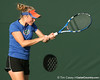 Florida sophomore Claire Bartlett competes during the Gators' 7-0 win against the South Florida Bulls on Monday, February 8, 2010 at Linder Stadium at Ring Tennis Complex in Gainesville, Fla. / Gator Country photo by Tim Casey