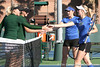 Florida senior Anastasia Revzina and freshman Lauren Embree compete during the Gators' 7-0 win against the South Florida Bulls on Monday, February 8, 2010 at Linder Stadium at Ring Tennis Complex in Gainesville, Fla. / Gator Country photo by Tim Casey