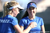 Florida senior Anastasia Revzina and reshman Lauren Embree compete during the Gators' 7-0 win against the South Florida Bulls on Monday, February 8, 2010 at Linder Stadium at Ring Tennis Complex in Gainesville, Fla. / Gator Country photo by Tim Casey