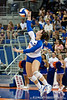 Florida redshirt freshman Taylor Unroe (55) serves the ball during the Gators' 3-0 win against Boston College on Friday, August 26, 2011 at the Stephen C. O'Connell Center in Gainesville, Fla. / Gator Country photo by Rob Foldy