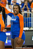 Florida senior Stephanie Ferrell (1) signals to a teammate during the Gators' 3-0 win against Boston College on Friday, August 26, 2011 at the Stephen C. O'Connell Center in Gainesville, Fla. / Gator Country photo by Rob Foldy