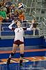 Boston College sophomore Alexandra Trobbe (2) serves the ball during the Gators' 3-0 win against Boston College on Friday, August 26, 2011 at the Stephen C. O'Connell Center in Gainesville, Fla. / Gator Country photo by Rob Foldy