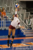Boston College freshman Lauren Fields (7) serves the ball during the Gators' 3-0 win against Boston College on Friday, August 26, 2011 at the Stephen C. O'Connell Center in Gainesville, Fla. / Gator Country photo by Rob Foldy