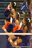 photo by Tim Casey<br /> <br /> Florida cheerleader perform during the Gators' sweep of the South Carolina Gamecock on Wednesday, October 15, 2008 at the Stephen C. O'Connell Center in Gainesville, Fla.