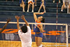 080824_RiversCallie_6582_TCasey<br /> <br /> photo by Tim Casey<br /> <br /> during the Florida volleyball team's annual Fan Day and Orange and Blue Scrimmage on Sunday, August 24, 2008 at the Stephen C. O'Connell Center in Gainesville, Fla.