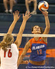 080824_MurphyKelly_6542_TCasey<br /> <br /> photo by Tim Casey<br /> <br /> during the Florida volleyball team's annual Fan Day and Orange and Blue Scrimmage on Sunday, August 24, 2008 at the Stephen C. O'Connell Center in Gainesville, Fla.