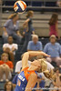 080824_WardColleen_6467_TCasey<br /> <br /> photo by Tim Casey<br /> <br /> during the Florida volleyball team's annual Fan Day and Orange and Blue Scrimmage on Sunday, August 24, 2008 at the Stephen C. O'Connell Center in Gainesville, Fla.