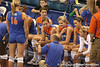 080824_JaeckelKristy_6497_TCasey<br /> <br /> photo by Tim Casey<br /> <br /> during the Florida volleyball team's annual Fan Day and Orange and Blue Scrimmage on Sunday, August 24, 2008 at the Stephen C. O'Connell Center in Gainesville, Fla.