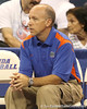 080824_CheronisNick_6528_TCasey<br /> <br /> photo by Tim Casey<br /> <br /> during the Florida volleyball team's annual Fan Day and Orange and Blue Scrimmage on Sunday, August 24, 2008 at the Stephen C. O'Connell Center in Gainesville, Fla.