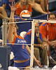 080824_JaeckelKristy_6547_TCasey<br /> <br /> photo by Tim Casey<br /> <br /> during the Florida volleyball team's annual Fan Day and Orange and Blue Scrimmage on Sunday, August 24, 2008 at the Stephen C. O'Connell Center in Gainesville, Fla.