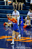 UF junior Elyse Cusack prepares to take a serve in the first set. The Gators clinched their last home game with a 3-0 win over the Crimson Tide at the O'Connell Center on Saturday, November 23, 2008. (Casey Brooke Lawson / Gator Country)