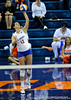 UF Freshman Kelly Murphy takes her serve at the beginning of the first set over Alabama. The Gators clinched their last home game with a 3-0 win over the Crimson Tide at the O'Connell Center on Saturday, November 23, 2008. (Casey Brooke Lawson / Gator Country)