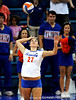 The No. 10/11 University of Florida Gators defeated Ole Miss 3-0 in the Stephen C. O'Connell Center in Gainesville, Fla. on Sunday, October 25, 2009. / Photo by Casey Brooke Lawson