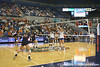 Florida fans watch during the Gators' 3-0 win against the Auburn Tigers on Sunday, November 8, 2009 at the Stephen C. O'Connell Center in Gainesville, Fla. / Gator Country photo by Tim Casey