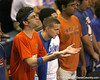 Florida fans cheer during the Gators' 3-0 win against the Auburn Tigers on Sunday, November 8, 2009 at the Stephen C. O'Connell Center in Gainesville, Fla. / Gator Country photo by Tim Casey