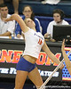 Florida sophomore outside hitter Colleen Ward makes an attack during the second game of the Gators' 3-0 win against the Colorado Buffaloes on Saturday, August 29, 2009 at the Stephen C. O'Connell Center in Gainesville, Fla / Gator Country photo by Tim Casey