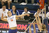 Florida sophomore outside hitter Colleen Ward makes an attack during the Gators' 3-0 win against the Colorado Buffaloes on Saturday, August 29, 2009 at the Stephen C. O'Connell Center in Gainesville, Fla / Gator Country photo by Tim Casey