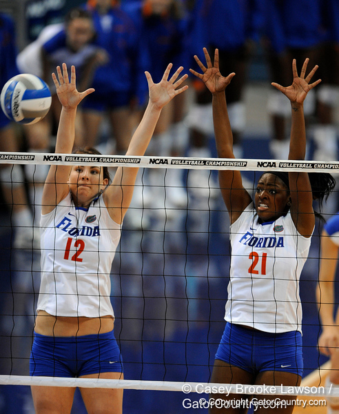 The University of Florida Gators defeat the FIU Golden Panthers 3-0 in the Steven C. O'Connell Center in Gainesville, Fla. on Friday, December 4, 2009. / Gator Country photo by Casey Brooke Lawson