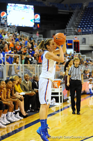 Florida Gators vs Bethune-Cookman Wildcats Womens Basketball.  Stephen C. O'Connell Center.  Gainesville, Florida.  November 8, 2013.