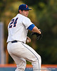 Florida junior pitcher Alex Panteliodis preparing to deliver a pitch during the Gators' 4-1 victory over the University of North Florida Ospreys on Wednesday, May 11, 2011 at McKethan Stadium in Gainesville, Fla. / photo by Rob Foldy