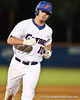 Florida sophomore Austin Maddox rounds third base after his two-run home run during the Gators' 4-1 victory over the University of North Florida Ospreys on Wednesday, May 11, 2011 at McKethan Stadium in Gainesville, Fla. / photo by Rob Foldy