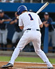Florida senior Bryson Smith gets hit by a pitch during the Gators' 4-1 victory over the University of North Florida Ospreys on Wednesday, May 11, 2011 at McKethan Stadium in Gainesville, Fla. / photo by Rob Foldy