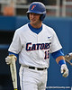 Florida junior catcher Ben McMahan heads back to the dugout during the Gators' 4-1 victory over the University of North Florida Ospreys on Wednesday, May 11, 2011 at McKethan Stadium in Gainesville, Fla. / photo by Rob Foldy