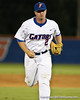 Florida senior Josh Adams runs back to the dugout during the Gators' 4-1 victory over the University of North Florida Ospreys on Wednesday, May 11, 2011 at McKethan Stadium in Gainesville, Fla. / photo by Rob Foldy