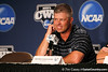 Florida baseball head coach Kevin O'Sullivan speaks at a press conference during the Men's College World Series practice day on Friday, June 17, 2011 at TD Ameritrade Park in Omaha, Neb. / Gator Country photo by Tim Casey