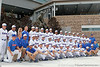 The Florida baseball team poses for a photo during the Men's College World Series practice day on Friday, June 17, 2011 at TD Ameritrade Park in Omaha, Neb. / Gator Country photo by Tim Casey