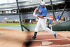 Florida sophomore Brian Johnson bats during the Men's College World Series practice day on Friday, June 17, 2011 at TD Ameritrade Park in Omaha, Neb. / Gator Country photo by Tim Casey