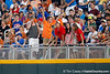 Fans cheer during the Gators' 8-4 win against the Texas Longhorns in the College World Series on Saturday, June 18, 2011 at TD Ameritrade Park in Omaha, Neb. / Gator Country photo by Tim Casey