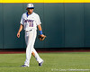 Florida junior outfielder Tyler Thompson gets in position during the Gators' game against the Texas Longhorns in the College World Series on Saturday, June 18, 2011 at TD Ameritrade Park in Omaha, Neb. / Gator Country photo by Tim Casey